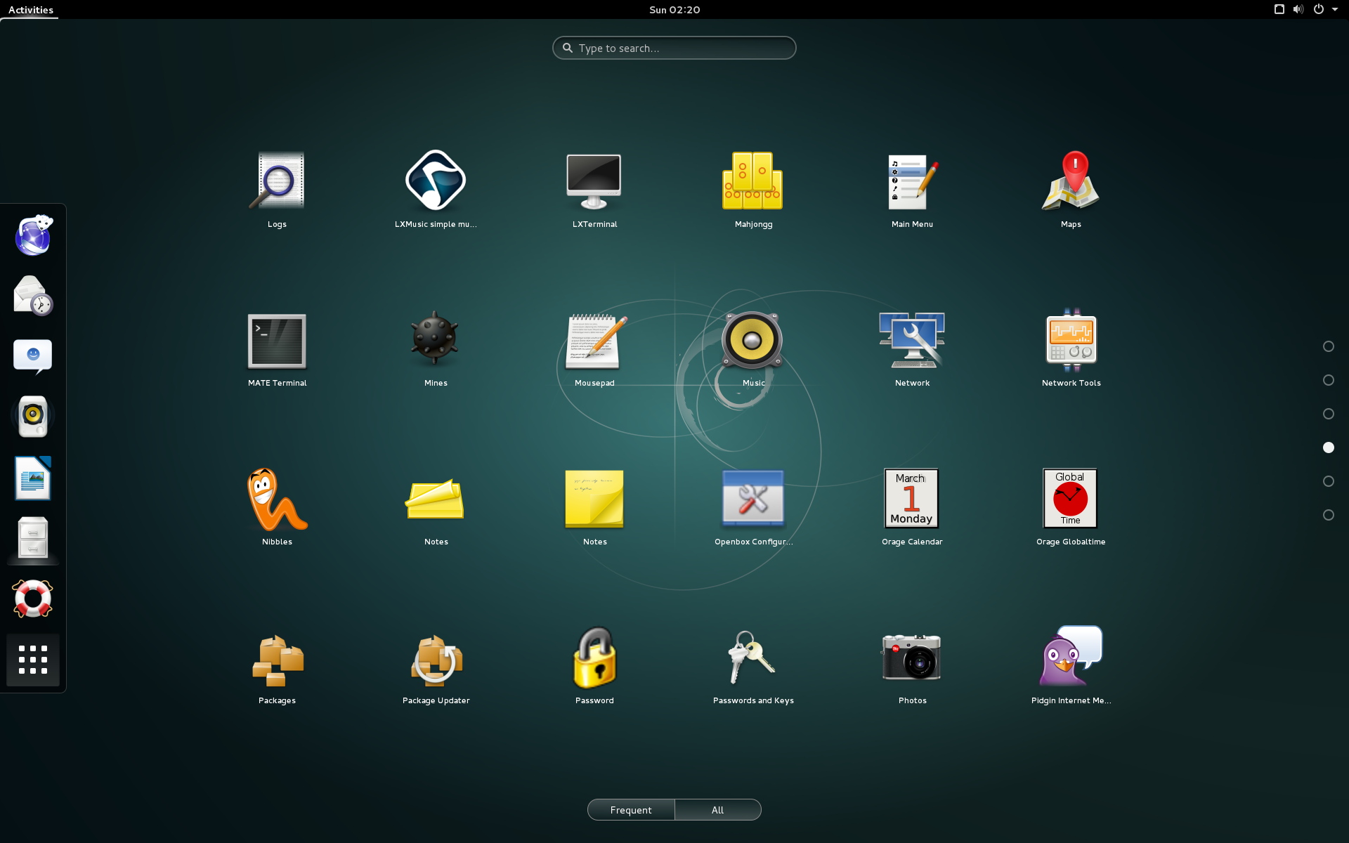 Debian 8 with Gnome 3 desktop
