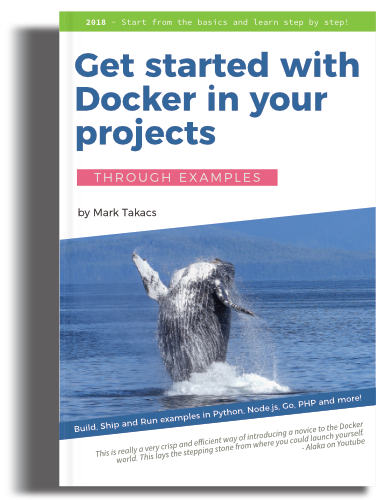 Get started with Docker in your projects through exmples icon